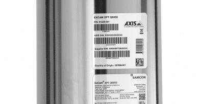 Axis apresenta câmera ExCam para áreas classificadas