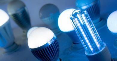 Benefícios das lâmpadas LED